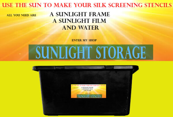 Sunlight washout store booth