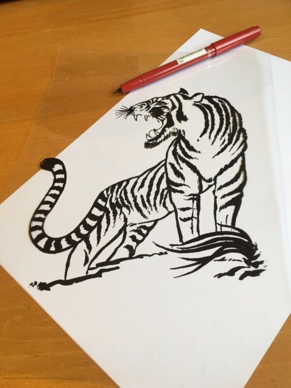 Stencil Art Pen