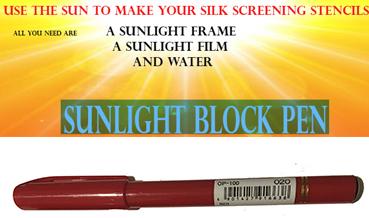 Stencil film positive pen