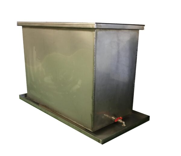 Silk screen dip tank