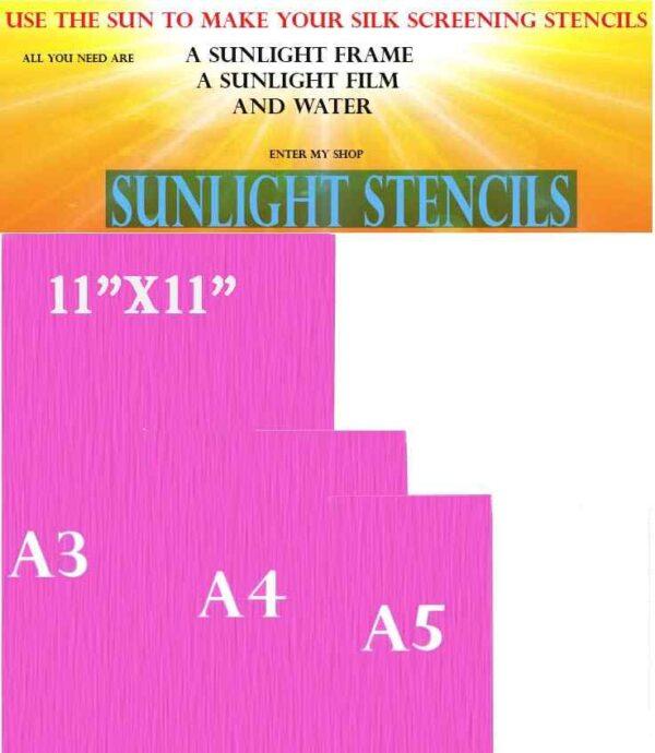 Sunlight Stencils