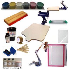 Screen Printing Kit Color A3 Mega Kit