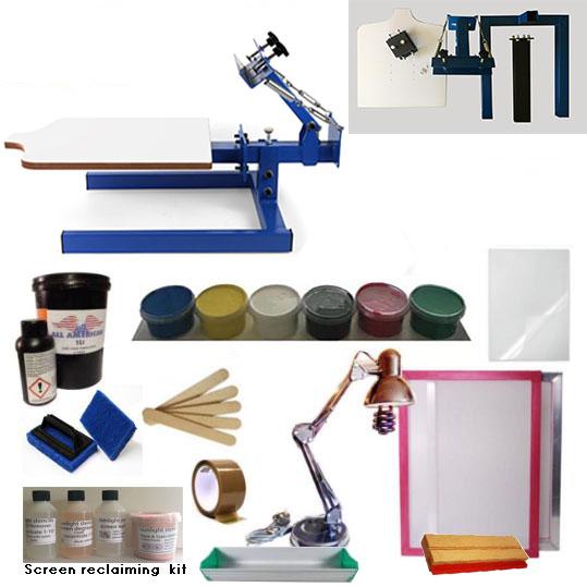 Screen Printing Kit 1 Colour A2